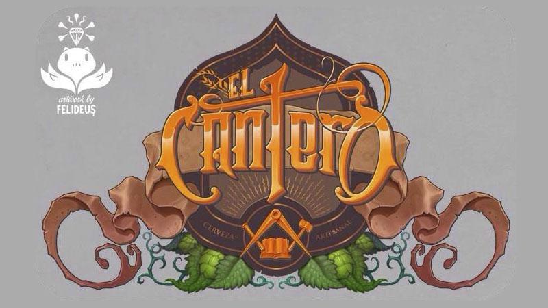 logo cerveza artesanal el cantero