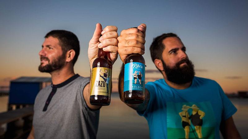 Juanjo y Fran La ribera cerveza artesanal