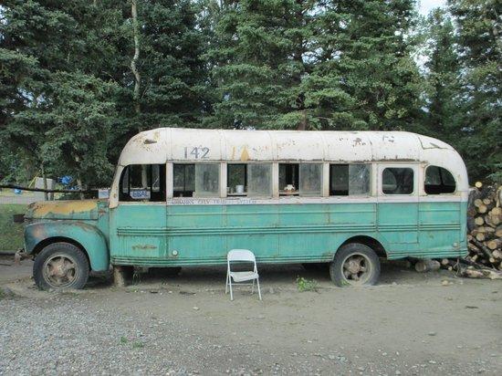Autobús mágico donde vivió Christian McCandless durante su estancia en Alaska
