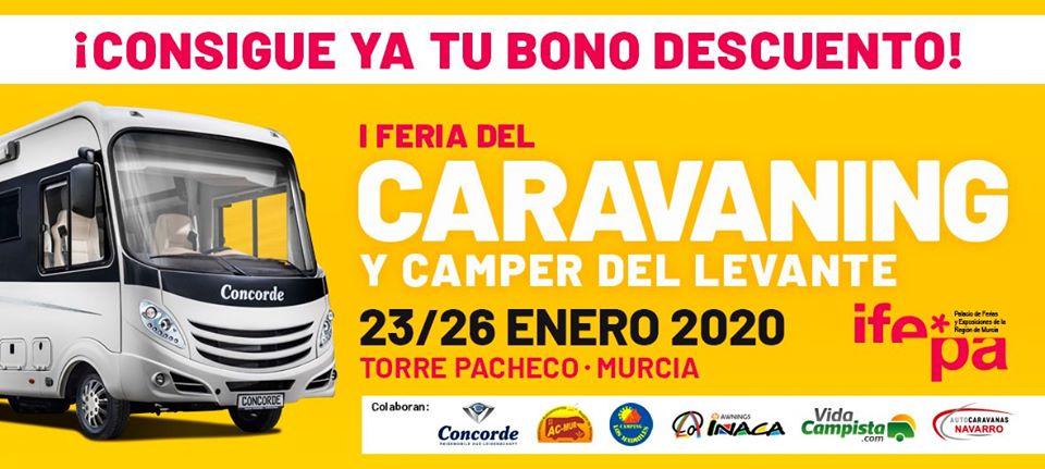 Feria del Caravaning y camper de Murcia