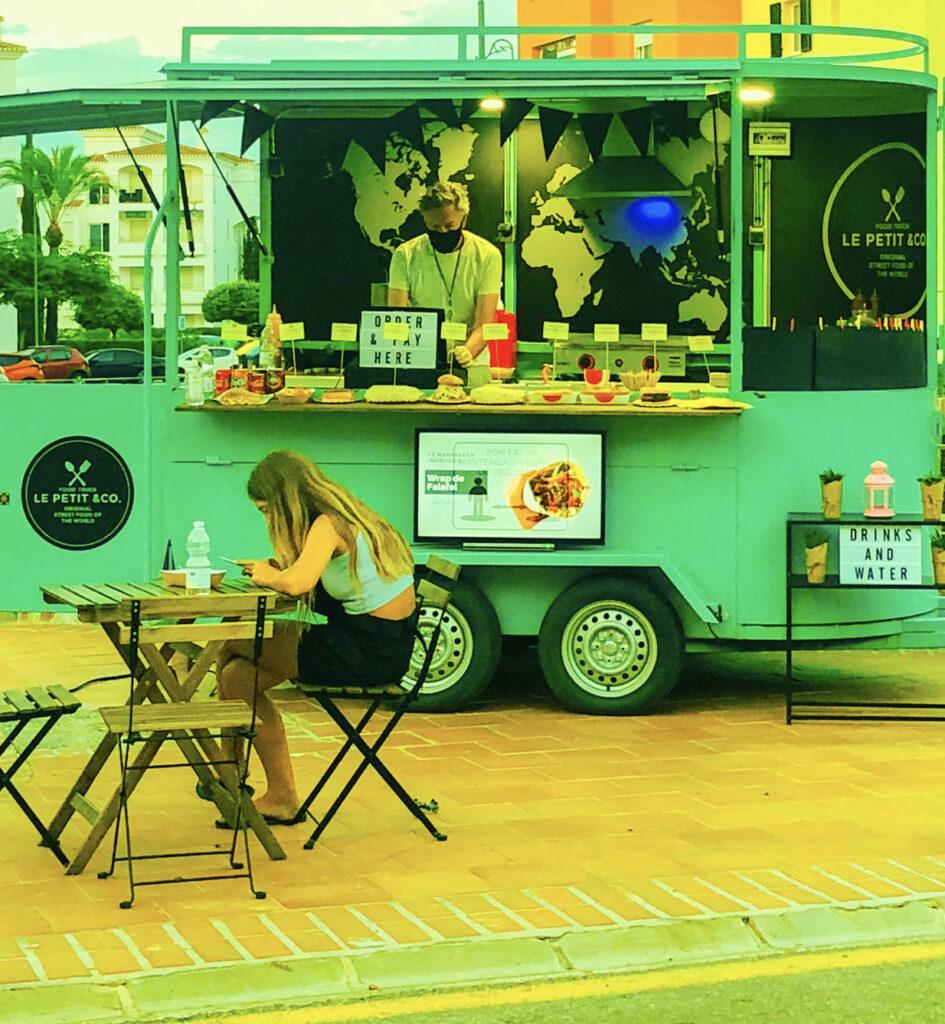 Food truck de Le Petit & Co