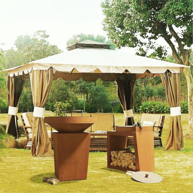 Cocina Afuego360 en jardin