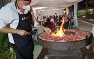 Cocinero en evento privado de Afuego360