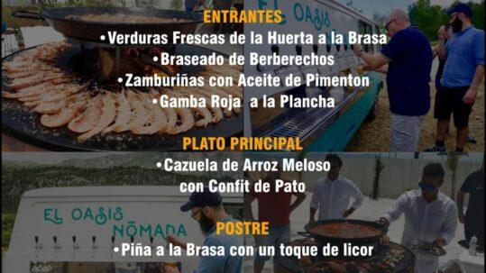 """Cartel primera edición evento gastronómico """"Afuego Nómada"""""""